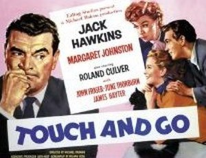 Touch and Go (1955 film) - Touch and Go UK release poster