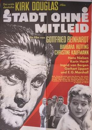 Town Without Pity - Original German theatrical release poster