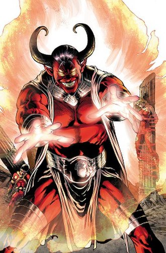 Trigon (comics) - Image: Trigon (The New 52 version)