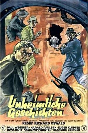Unheimliche Geschichten (1932 film) - Image: Unheimliche geschichten 1932