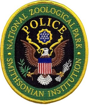 Smithsonian Police - National Zoological Park Police patch