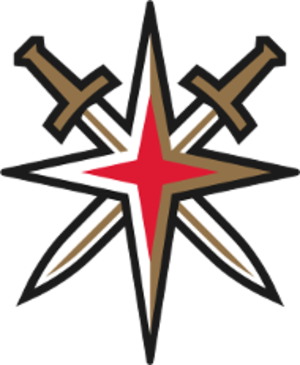Vegas Golden Knights - The team's secondary logo