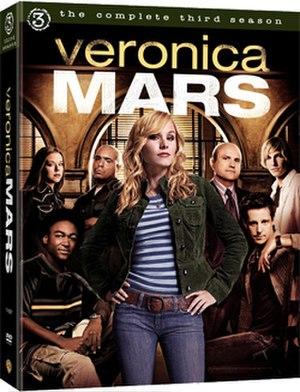 Veronica Mars (season 3) - DVD cover