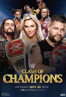 Znalezione obrazy dla zapytania clash of champions 2016 poster