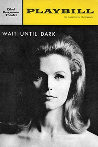 Wait Until Dark - Playbill for the Broadway premiere  starring Lee Remick (1966)