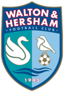Walton & Hersham F.C. Association football club in England