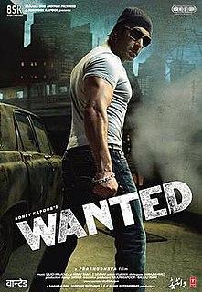 <i>Wanted</i> (2009 film) 2009 Indian Hindi-language action film directed by Prabhu Deva