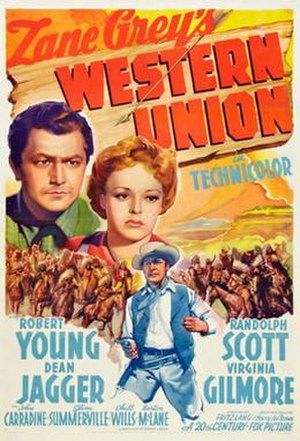 Western Union (film) - Image: Western union 1941