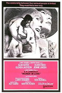 <i>Women in Love</i> (film) 1969 British film directed by Ken Russell