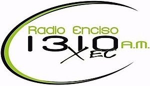 XEC-AM - Image: XEC Radio Enciso 1310AM logo