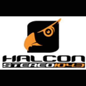 XHJIM-FM - Image: XHJIM Halcon Stereo 104.3 logo