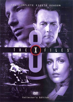 The X-Files (season 8) - DVD cover