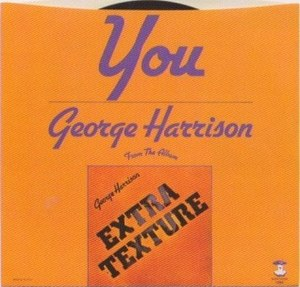 You (George Harrison song) - Image: You 1975 US picture sleeve