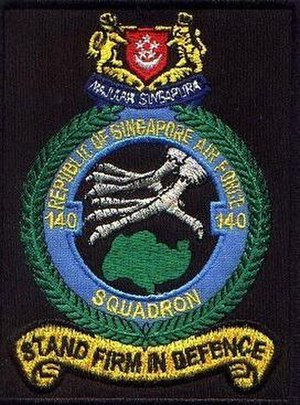 140 Squadron, Republic of Singapore Air Force - Image: 140Sqn shoulder patch