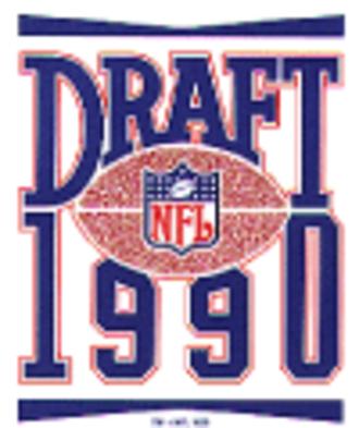 1990 NFL Draft - Image: 1990nfldraft