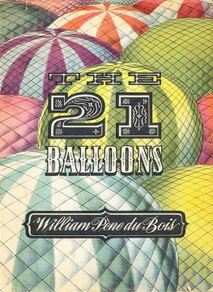 The Twenty-One Balloons - First edition
