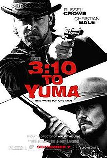 <i>3:10 to Yuma</i> (2007 film) 2007 film by James Mangold