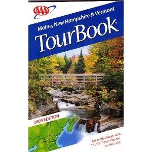 TourBook - A 2009 TourBook covering three New England states