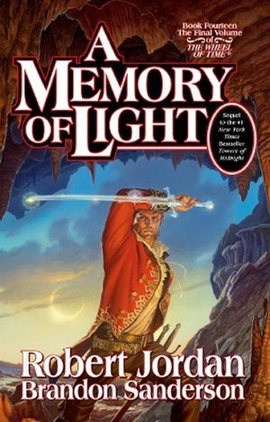A Memory of Light - Official book cover