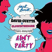 David Guetta and GLOWINTHEDARK featuring Harrison — Ain't a Party (studio acapella)