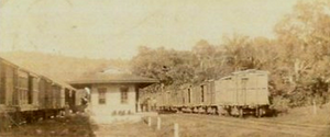Albany railway station, Saint Mary, Jamaica c1896.png