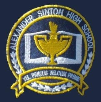 Alexander Sinton Secondary School - Image: Alexander Sinton high school logo