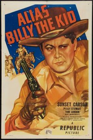Alias Billy the Kid - Theatrical release poster