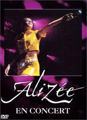 Alizée En Concert - Image: Alizee dvd enconcert france