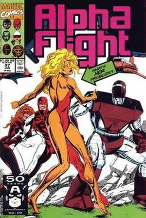 Kismet (Marvel Comics) - Image: Alpha Flight Vol 1 97