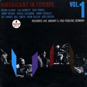 Americans in Europe - Image: Americans in Europe Vol 1