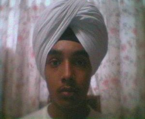 Picture of me wearing a turban