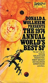 <i>The 1974 Annual Worlds Best SF</i> book by Donald A. Wollheim