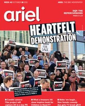 Ariel (newspaper) - An edition of Ariel