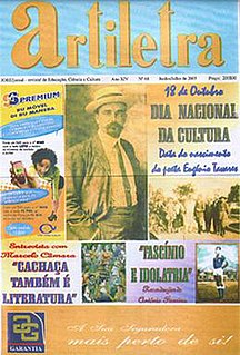 <i>Artiletra</i> bi-monthly magazine from Cape Verde