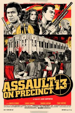 Assault on Precinct 13 (1976 film) - Image: Assault on Precinct 13 Mondo Poster 2011