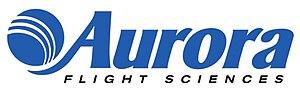 Aurora Flight Sciences - Image: Aurora Logo 1.5x