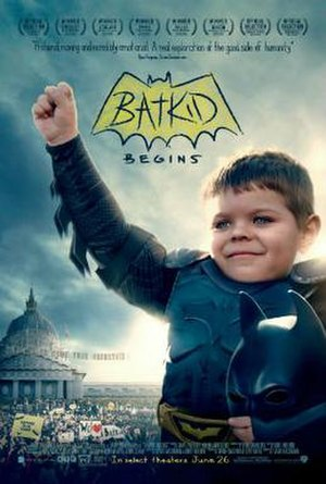 Batkid Begins - Theatrical release poster