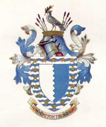 Arms granted to the metropolitan borough in 1955