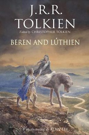 The Tale of Beren and Lúthien - Front cover of the 2017 hardback edition