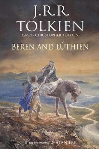 Beren and Lúthien - Front cover of the 2017 hardback edition
