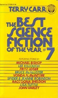 <i>The Best Science Fiction of the Year 7</i> book by Terry Carr