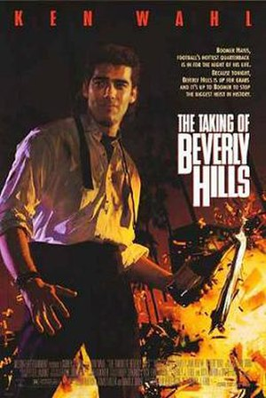 The Taking of Beverly Hills - Promotional film poster