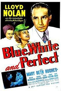 <i>Blue, White and Perfect</i> 1942 film by Herbert I. Leeds