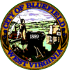 Official seal of Bluefield, West Virginia
