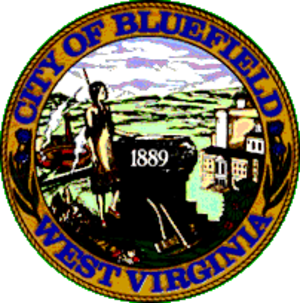 Bluefield, West Virginia - Image: Bluefield Seal