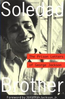 Book cover, Soledad Brother by George Jackson.jpg