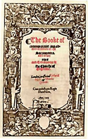 Book of Common Prayer - Prayer book of 1559.