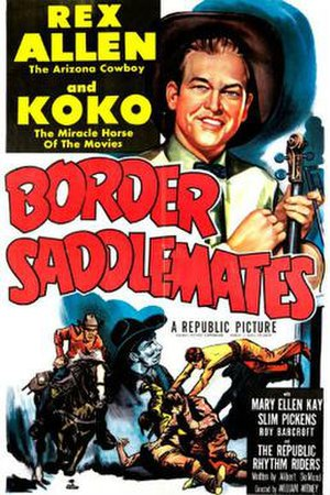 Border Saddlemates - Theatrical release poster