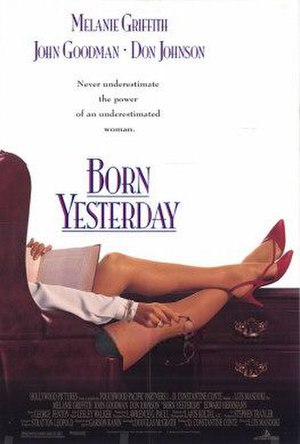 Born Yesterday (1993 film) - Theatrical release poster