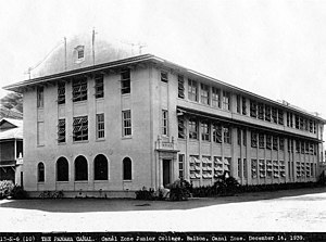 Balboa High School (Panama) - BHS in 1939